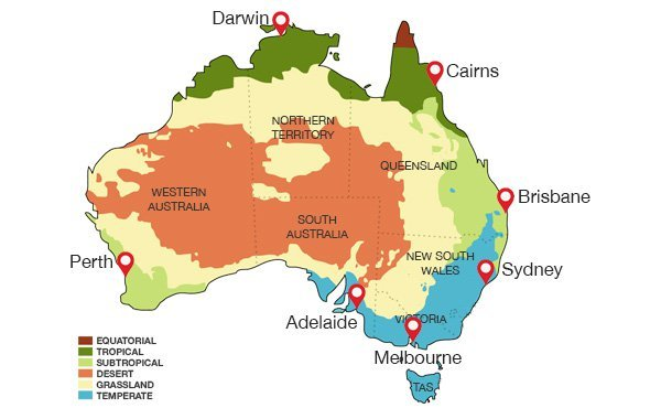 Australia Clima