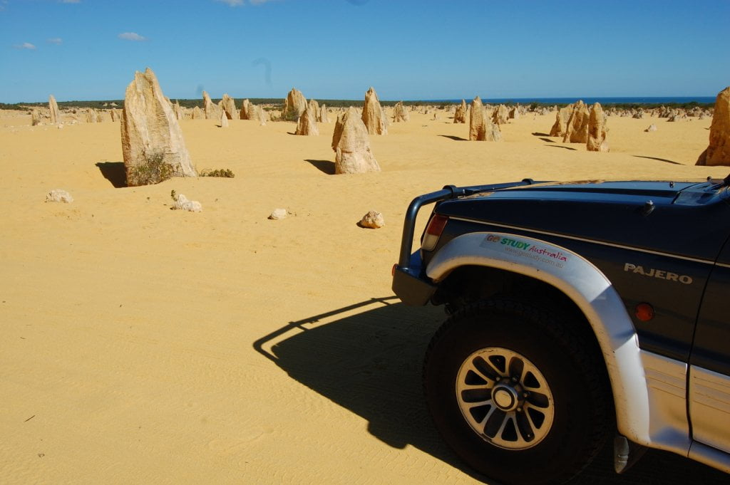 Australia Outback in macchina