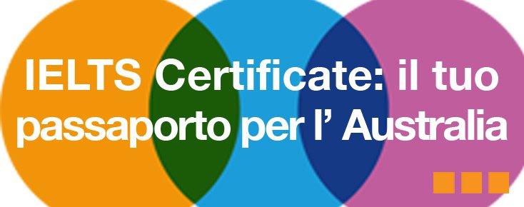 IELTS Certificate Australia