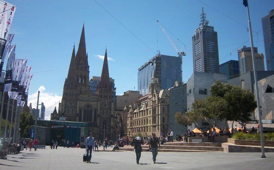 Melbourne: Flinderstreet