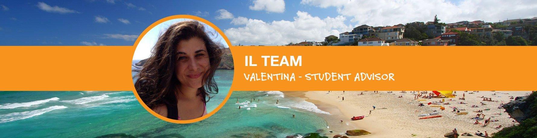 Il Team si presenta: Valentina - Student Advisor