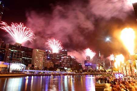 Melbourne Capodanno 2014