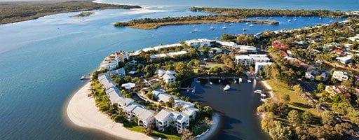Sunshine Coast spiaggia