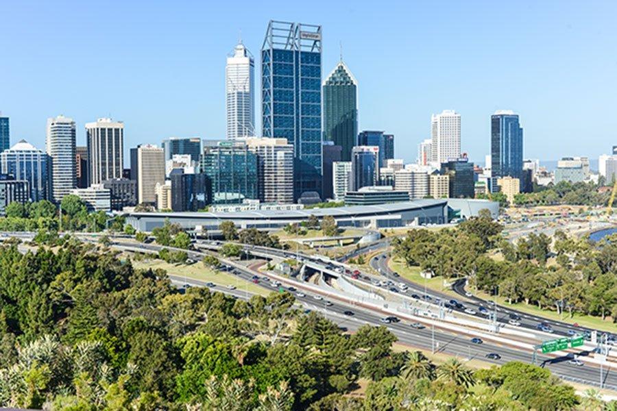 Lavorare a Perth, Australia