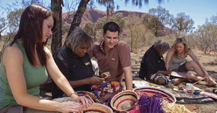 Uluru - arte e cultura aborigena