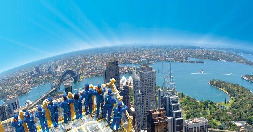 Sydney vista dall'alto