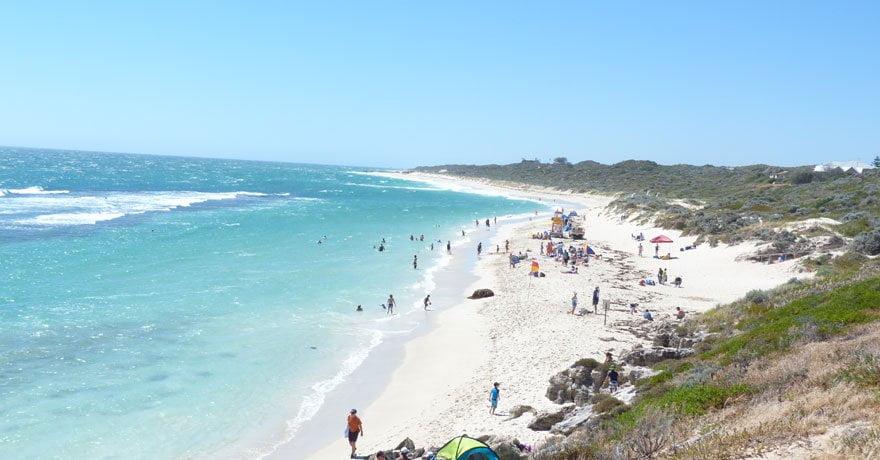 Yanchep, una tra le spiagge più belle a Perth