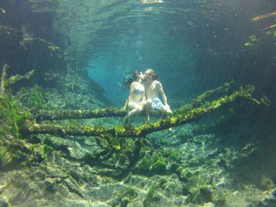"""L'Australia dei ragazzi di """"In Viaggio col Tubo"""": Bitter Springs Mataranka"""