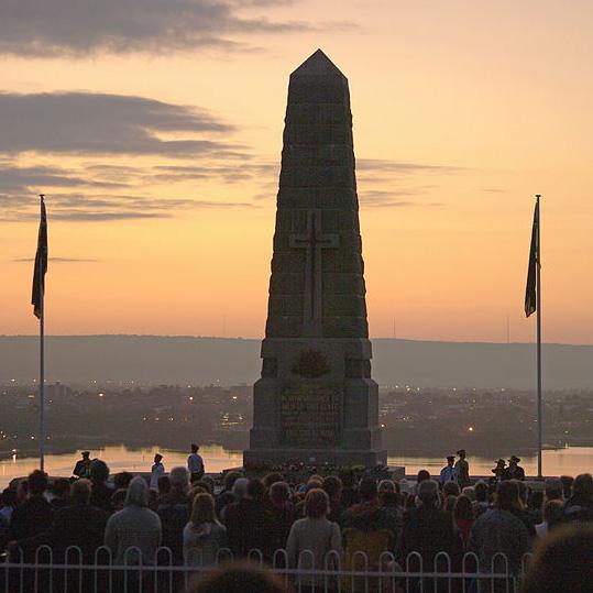 Il Dawn Service per celebrare l'Anzac Day